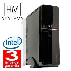 HM Siroco C4 - Sobremesa Slim SFF - 8ª Gen - Intel Celeron G4900 - 4GB - 1TB - USB 3.0 - Grabadora - 3 años - 30 días DOA